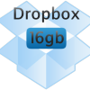 DROPBOX UP 16GB