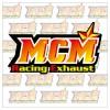Mcm Racing Exhaust