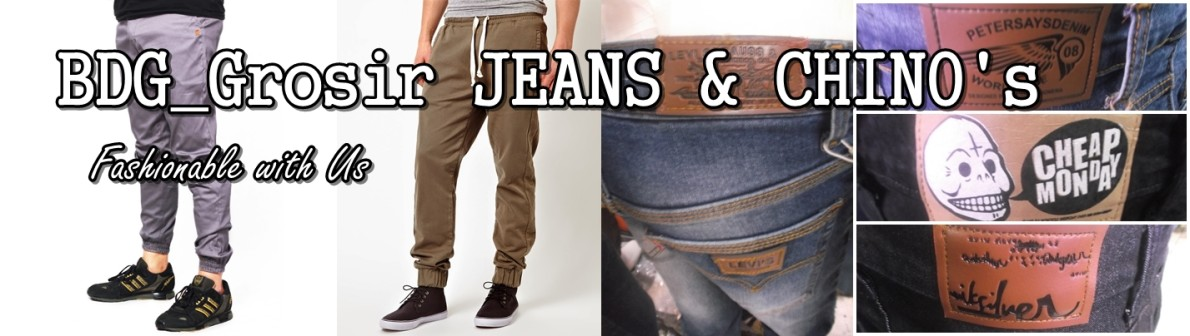BDG Grosir Jeans & Chino