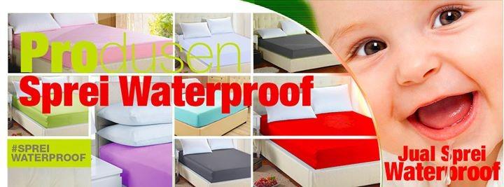 Jual Sprei Waterproof