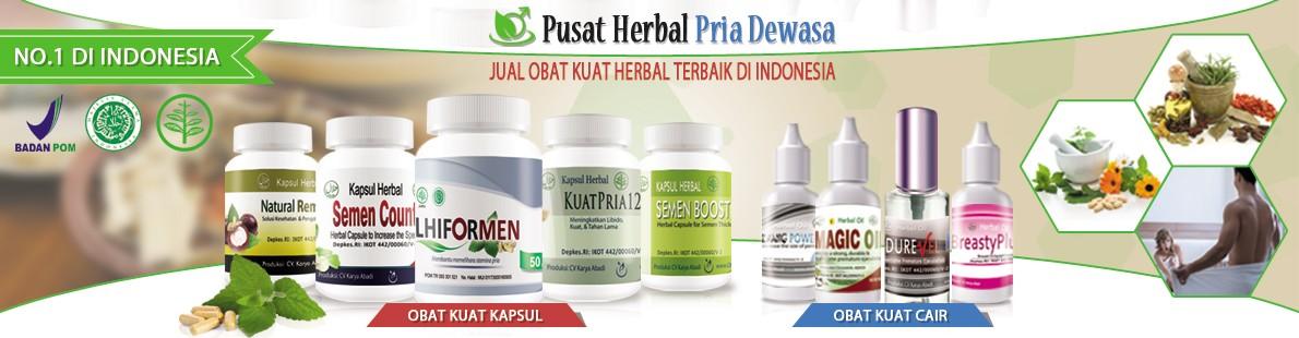 Pusat Herbal Pria Dewasa