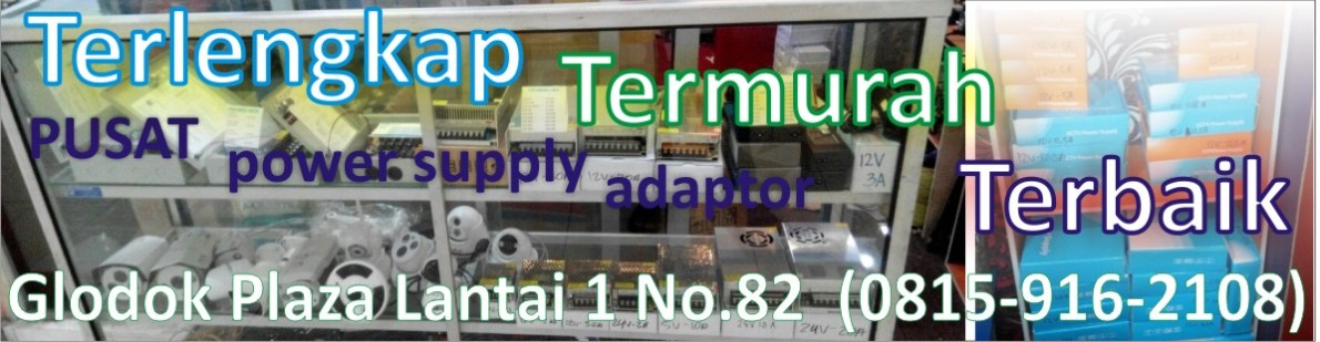 PUSAT adaptor pwr supply