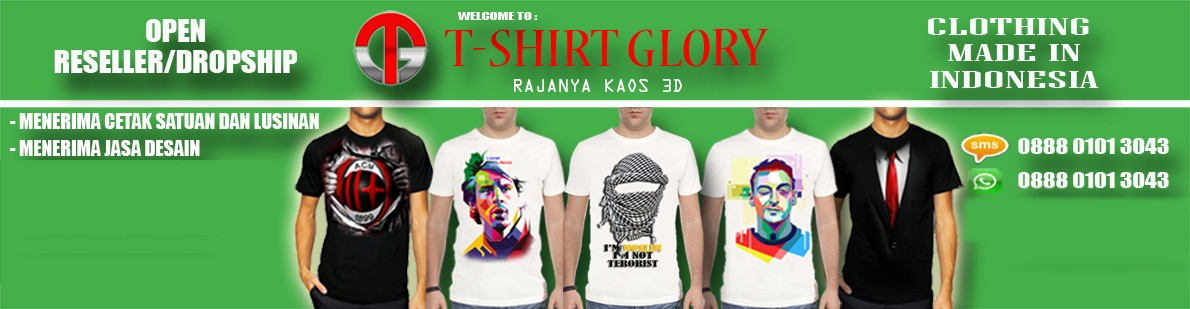 T-Shirt Glory 3D