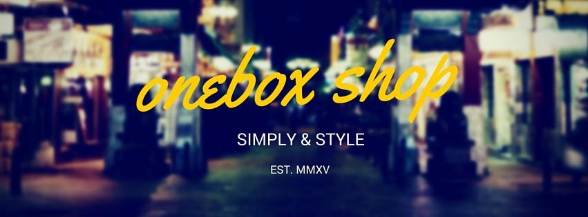 ONEBOX SHOP