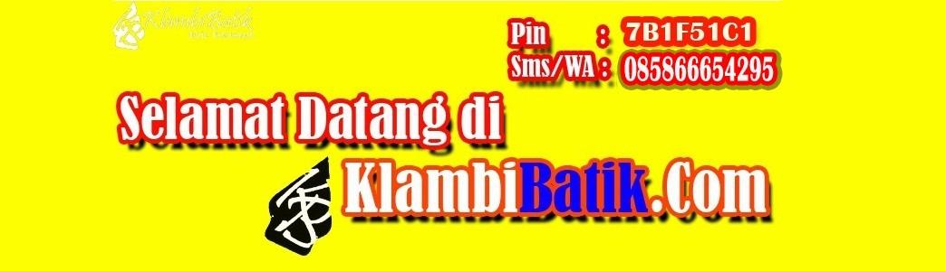 Toko Klambi Batik