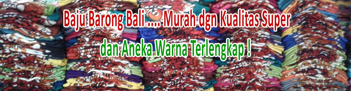 Baju Barong Bali Murah