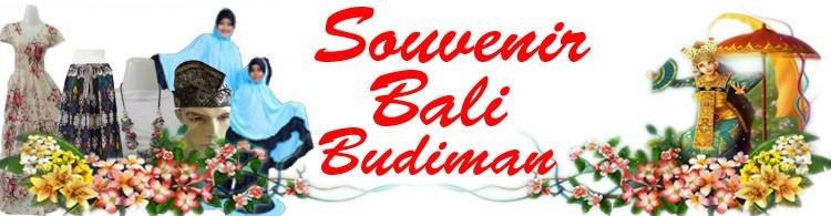 Souvenir Bali Budiman