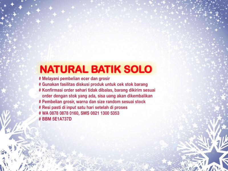 Natural Batik Solo