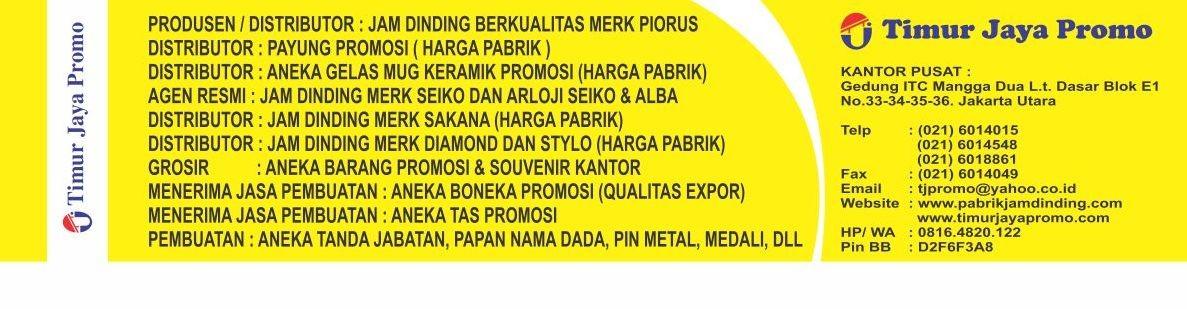 Timur Jaya Promo