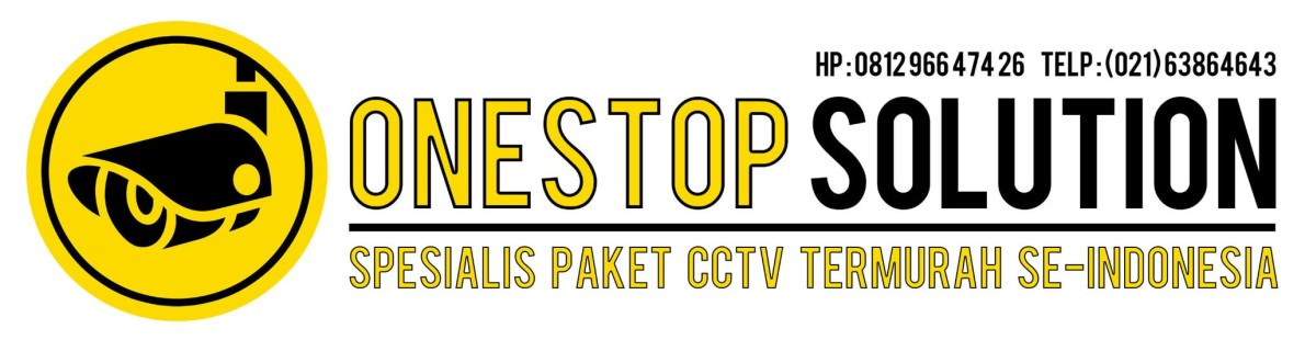 CCTV One-Stop Solution