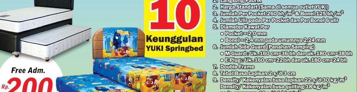 Yuki Spring Bed -PUSAT-