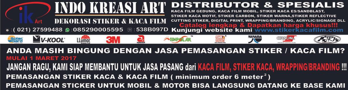 PUSAT KACA FILM & STIKER