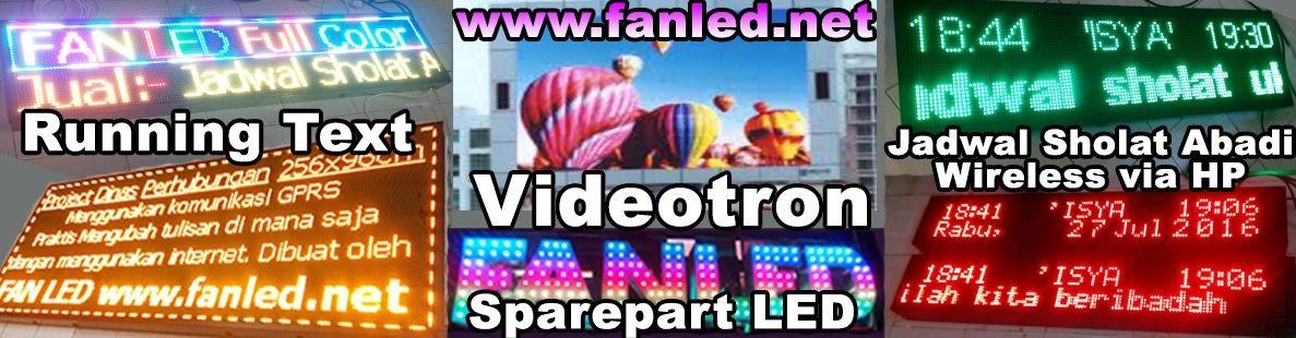 FAN LED Reklame
