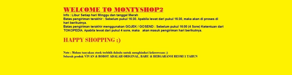 MontyShop