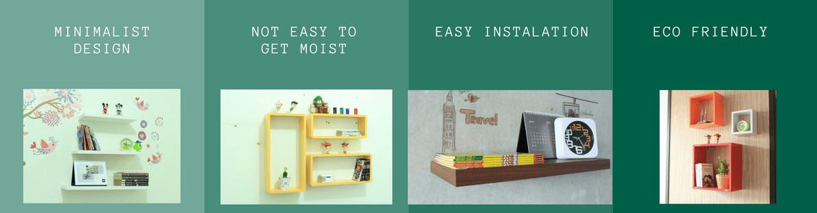 Malist Floating Shelves