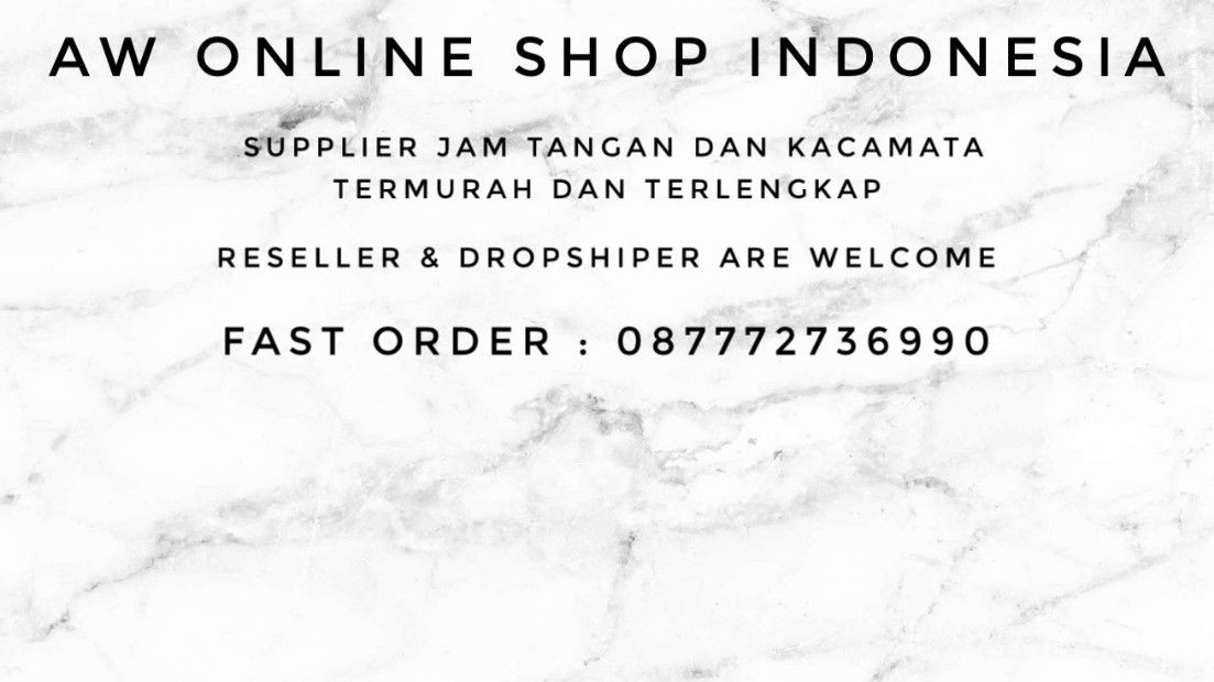 AW ONLINE SHOP INDONESIA