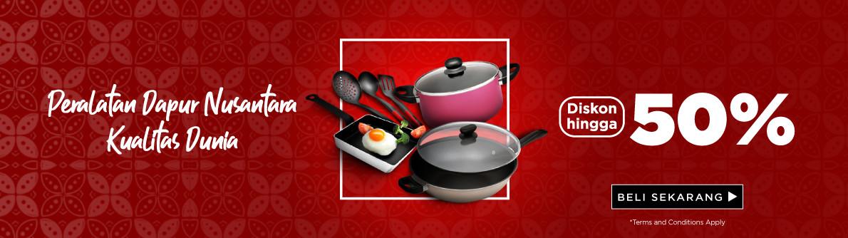 Peralatan Dapur Nusantara