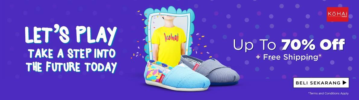 Kohai Discount Up to 70%