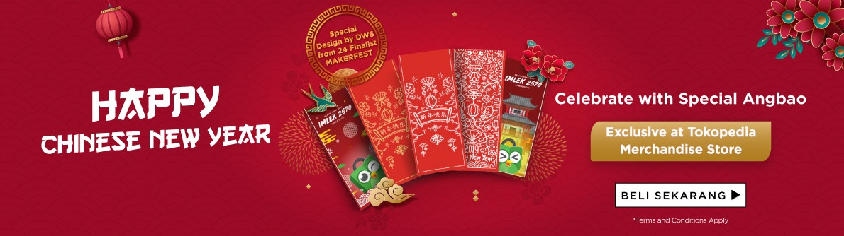 Celebrate Chinese New Year with Special Angpao