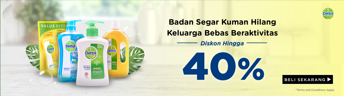Dettol Storewide Discount Up To 40%