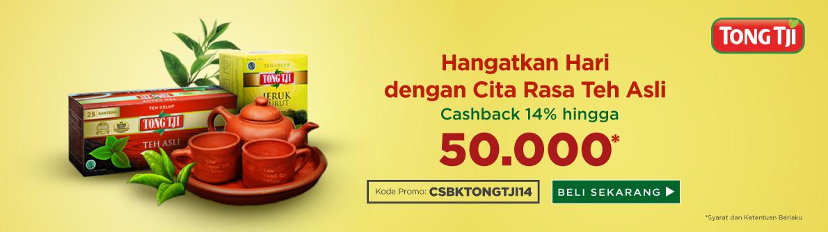 Tong Tji - Cashback 14%