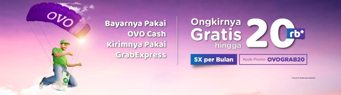 GrabxOvo Gratis Ongkir