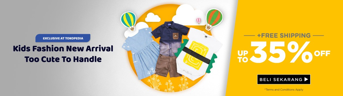 Kids Fashion New Arrival Discount Up to 35%