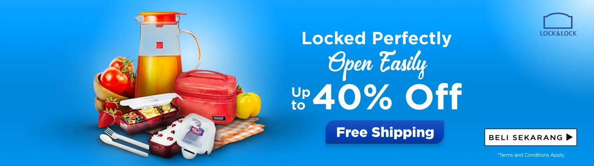 Lock&Lock Discount up to 40%