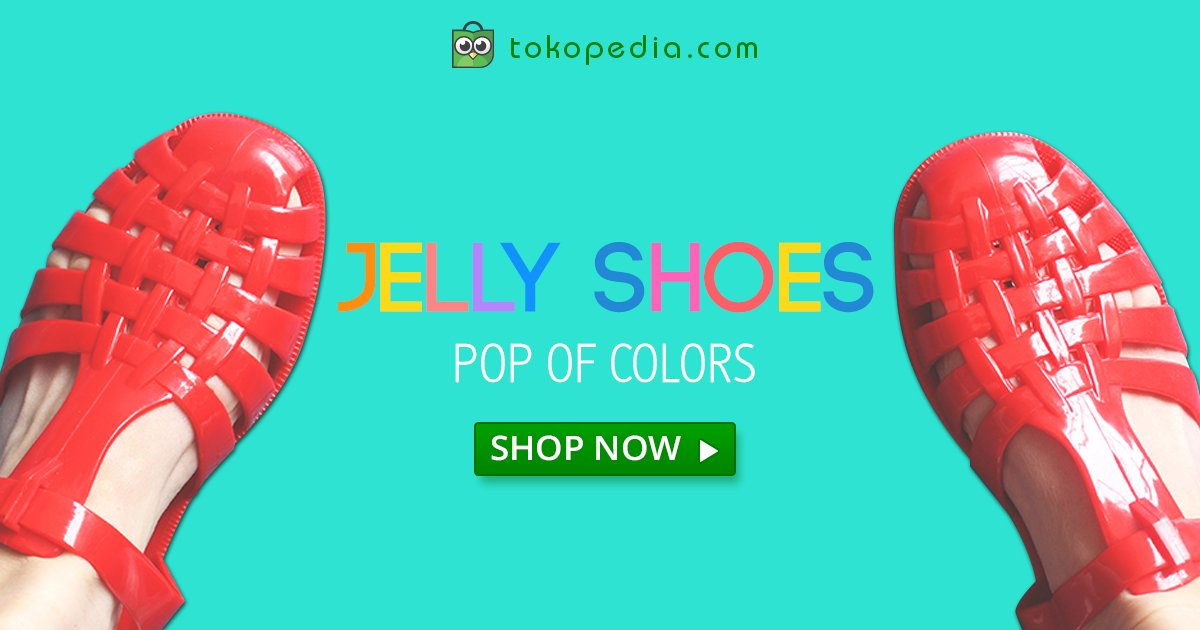 Jelly Shoes Online Shop Jakarta