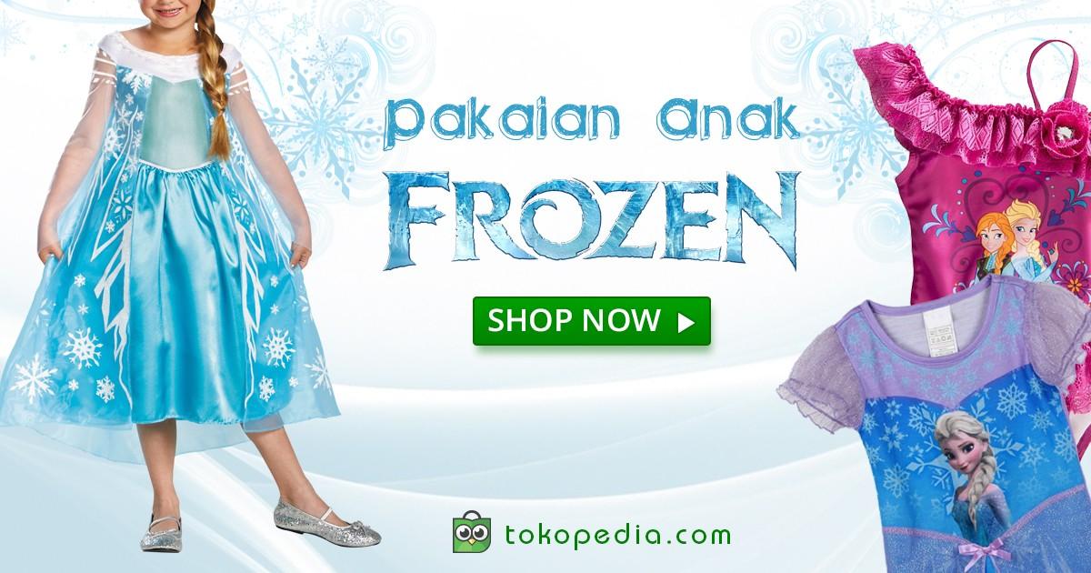muslim anak frozen model princess anna jual baju muslim