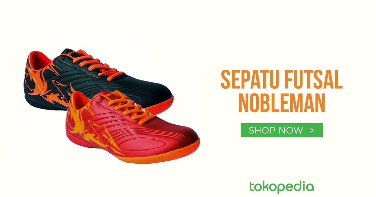 Jual Sepatu Futsal Nobleman | Tokopedia