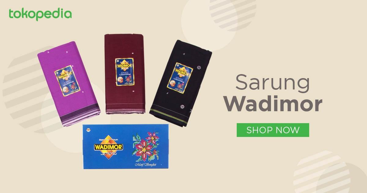 Jual Sarung Wadimor | Tokopedia