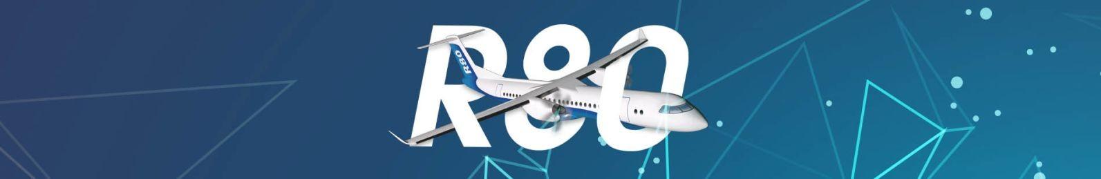 Official Pesawat R80