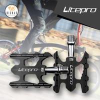 LITEPRO K3 Pedal Sepeda Lipat Roadbike MTB Bearing Ultralight Alloy