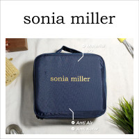 Sonia Miller Cosmetic bag S 1019-15 2450-780 dura blue Makeup Pouch thumbnail