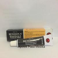 Benoson N Cream 15 Gram - Krim Alergi Kulit dan Infeksi