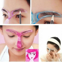 Cetakan Alis Mata Eyebrow Template Shaping Guide thumbnail