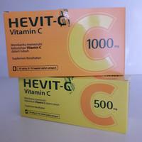 Hevit-C 500 MG / 1000 MG - Vitamin C untuk Daya Tahan Tubuh (10 Tab)