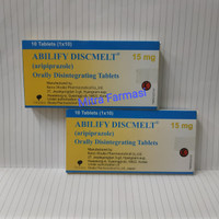 abilify discmelt 15 mg
