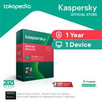 Jual Antivirus Kaspersky Internet Security 1 Pc 1 Tahun Original 365hari Jakarta Selatan Kaspersky Official Tokopedia