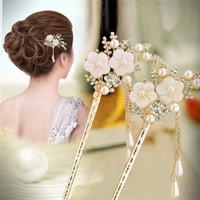 Tusuk konde Tusuk Sanggul Hiasan Aksesoris Rambut Hair pin Bunga H16 thumbnail