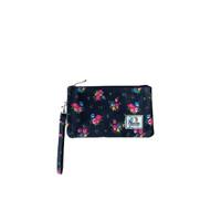 Pouch Harvest Flower 3 Zipper - Merah Muda thumbnail