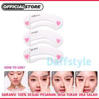 Kartu Cetakan Alis 3 in 1 Eye Brows Eyebrows thumbnail