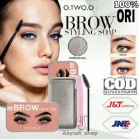 O.TWO.O OTWOO BROW STYLING SOAP EYEBROW POMADE SOAP BRUSH & RAZOR thumbnail