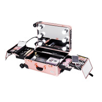 Sonia Miller Cabin Size Beauty Makeup Case Messy Line With 6 Tri-Color thumbnail