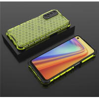REALME 7 HARD CASE HONEYCOOMB ARMOR SEMI TRANPARAN COVER