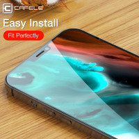 CAFELE ORI IPHONE 12 / IPHONE 12 PRO TEMPERED GLASS CLEAN HD