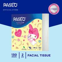 Paseo Character Tissue Wajah Pop Up Sanrio 130 Sheets