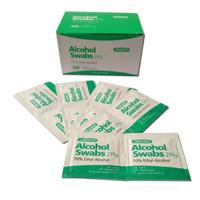 Alkohol Swabs 100 lembar 70% - Antiseptik pembersih Luka, Sanitizers