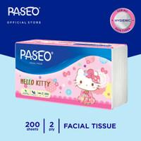 Paseo Character Tissue Wajah Soft Pack 200 Sheets